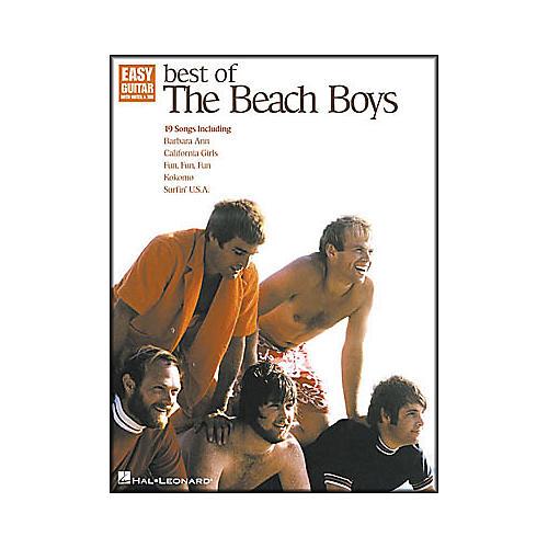 Hal Leonard Best of The Beach Boys Easy Guitar Book-thumbnail