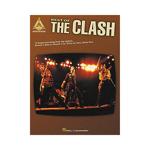 Hal Leonard Best of The Clash Guitar Tab Book