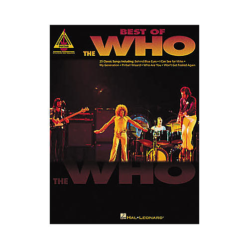 Hal Leonard Best of The Who Guitar Tab Book-thumbnail
