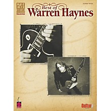 Cherry Lane Best of Warren Haynes Guitar Tab Songbook