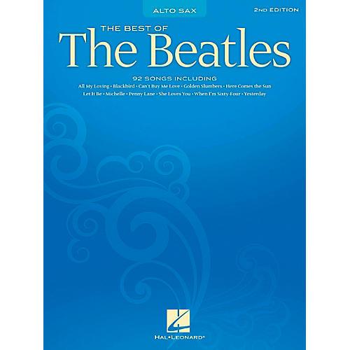 Hal Leonard Best of the Beatles - Alto Saxophone (Saxophone)-thumbnail
