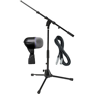 Shure Beta 52A Kick Microphone with Cable and Stand by Shure