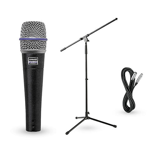 Shure Beta 57A Dynamic Mic with Cable and Stand-thumbnail
