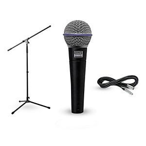 Shure Beta 58A, Stand and Cable Package by Shure
