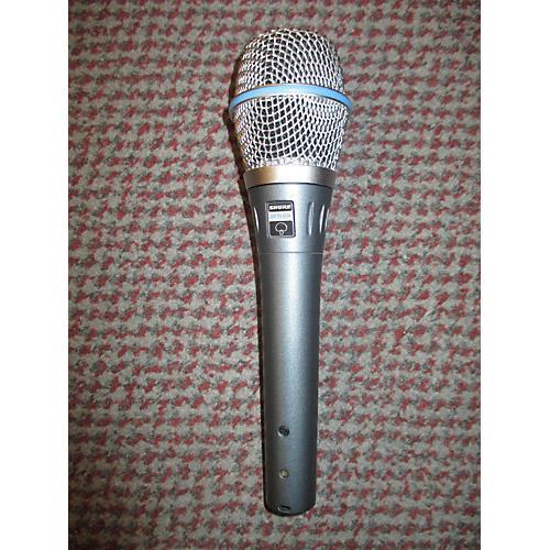 Shure Beta 87A Dynamic Microphone-thumbnail