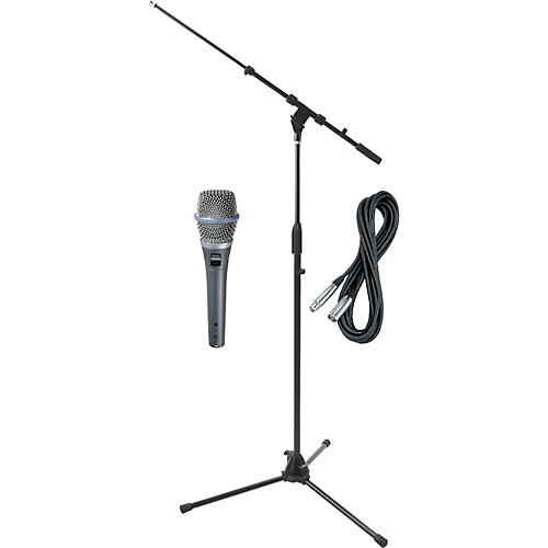 Shure Beta 87C HH Condenser Mic with Cable and Stand