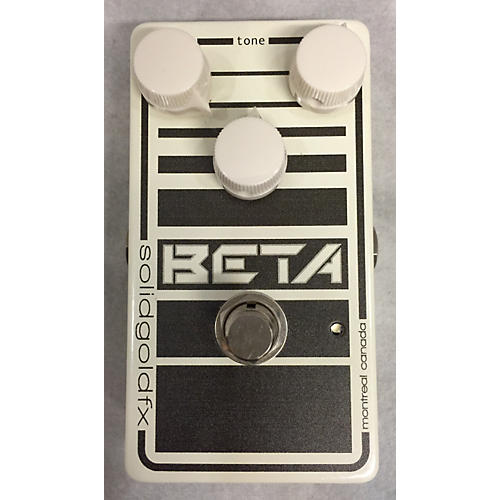 SolidGoldFX Beta Bass Effect Pedal