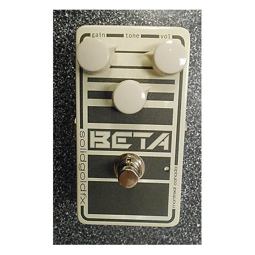 SolidGoldFX Beta Bass Overdrive V2 Bass Effect Pedal