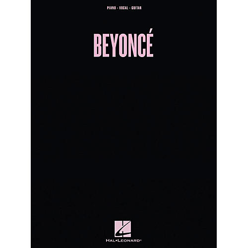 Hal Leonard Beyonce - Beyonce for Piano/Vocal/Guitar