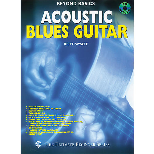 Alfred Beyond Basics - Acoustic Blues Guitar (Book/CD)
