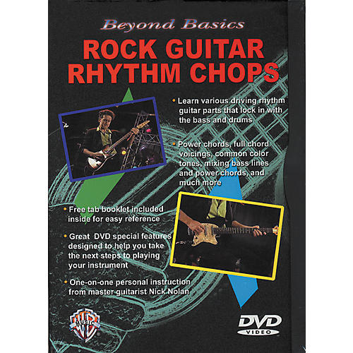 Alfred Beyond Basics/Rock Rhythm Chops DVD