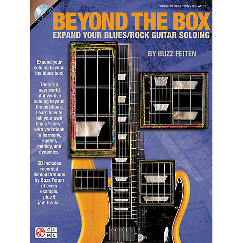 Cherry Lane Beyond The Box: Expand Your Blues/Rock Guitar Soloing (Book/CD)-thumbnail