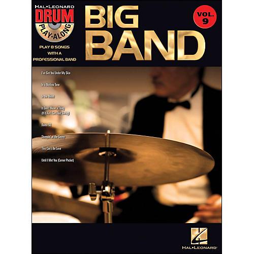 Hal Leonard Big Band - Drum Play-Along Volume 9 Book/CD