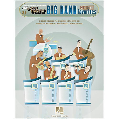 Hal Leonard Big Band Favorites 2nd Edition E-Z Play 31
