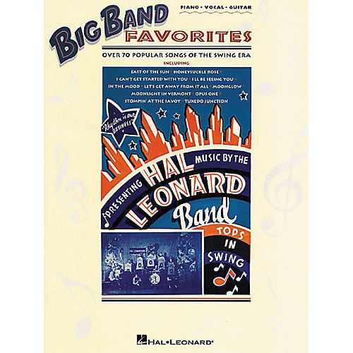 Hal Leonard Big Band Favorites Piano, Vocal, Guitar Songbook