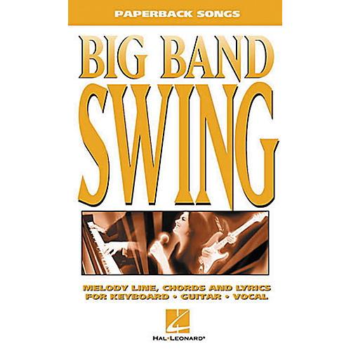 Hal Leonard Big Band Swing Piano, Vocal, Guitar Songbook-thumbnail