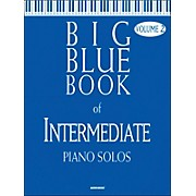Word Music Big Blue Book Of Intermediate Piano Solos V2