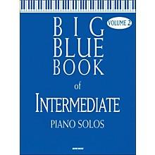 Word Music Big Blue Book Of Intermediate Piano Solos V2