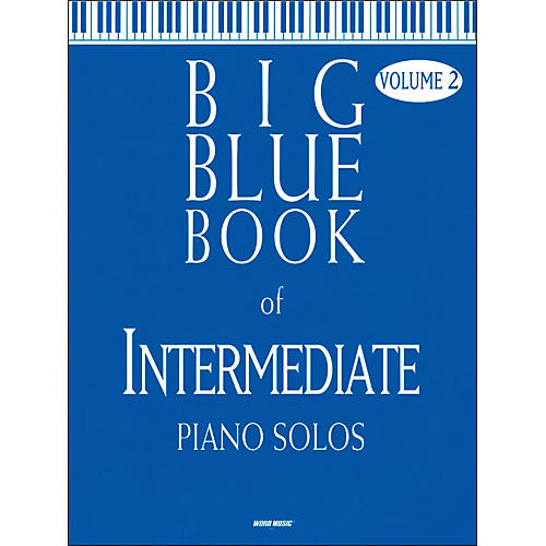 Word Music Big Blue Book Of Intermediate Piano Solos V2-thumbnail