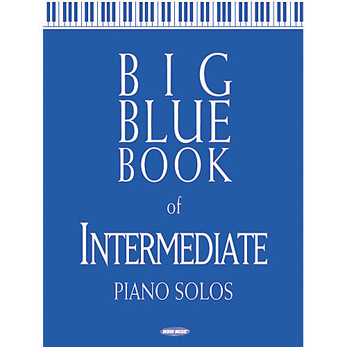 Word Music Big Blue Book of Intermediate Piano Solos-thumbnail