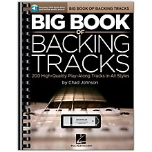 Hal Leonard Big Book Of Backing Tracks - 200 High-Quality Play-Along Tracks in All Styles (Book/Online Audio)