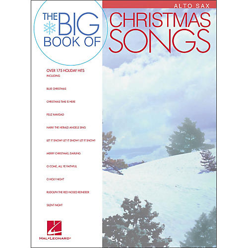 Hal Leonard Big Book Of Christmas Songs for Alto Sax-thumbnail