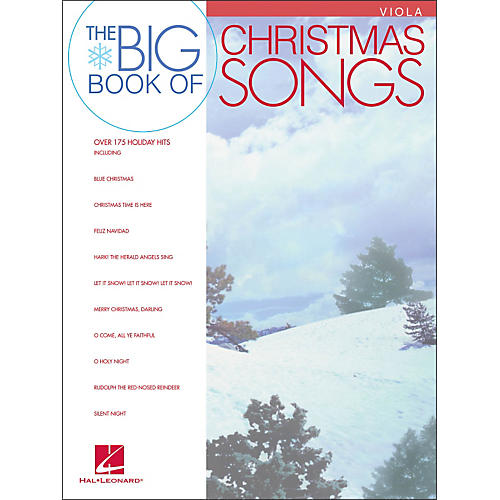 Hal Leonard Big Book Of Christmas Songs for Viola-thumbnail