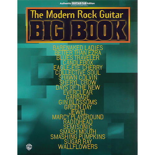 Alfred Big Book of Modern Rock Guitar