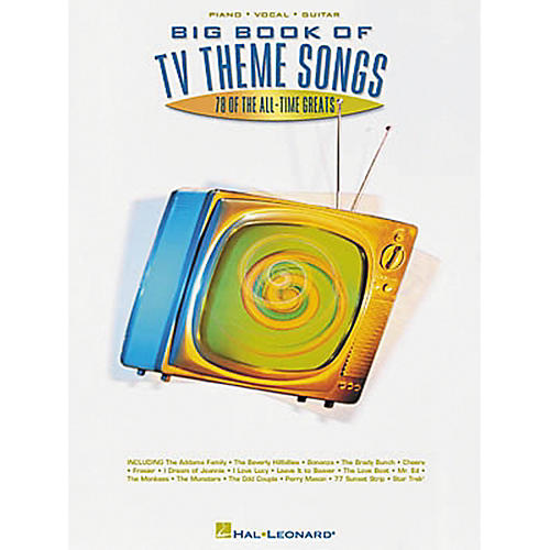 Hal Leonard Big Book of TV Theme Songs Piano, Vocal, Guitar Songbook-thumbnail