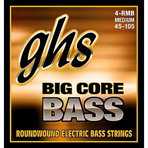 GHS Big Core Drop Tuning Bass Guitar Strings 45-105
