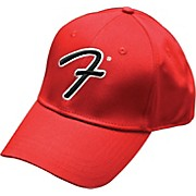 "Fender Big ""F"" Logo Stretch Baseball Cap"