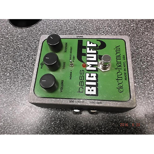 Electro-Harmonix Big Muff Bass Distortion Bass Effect Pedal-thumbnail