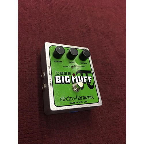 Electro-Harmonix Big Muff Bass Distortion Bass Effect Pedal