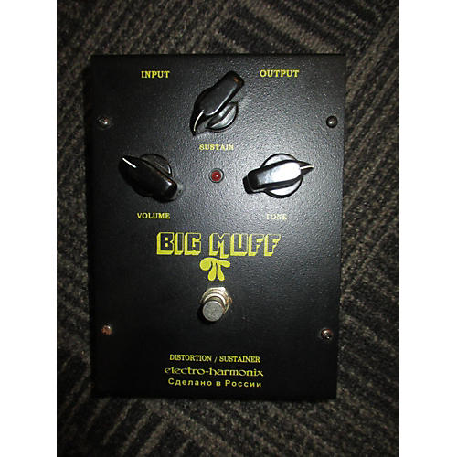 Electro-Harmonix Big Muff Distortion Black Effect Pedal