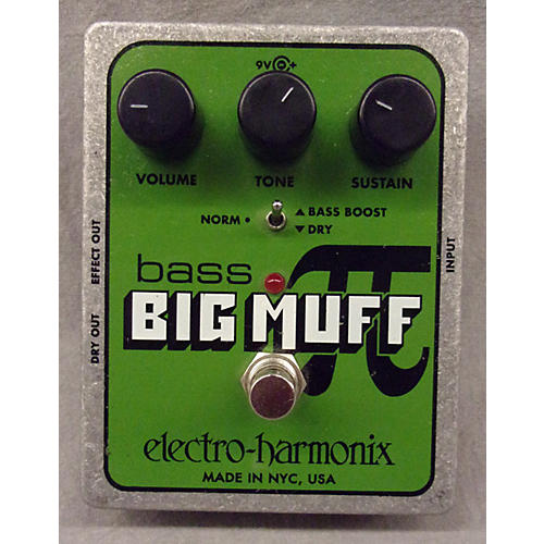 Electro-Harmonix Big Muff Nano Bass Distortion Bass Effect Pedal-thumbnail