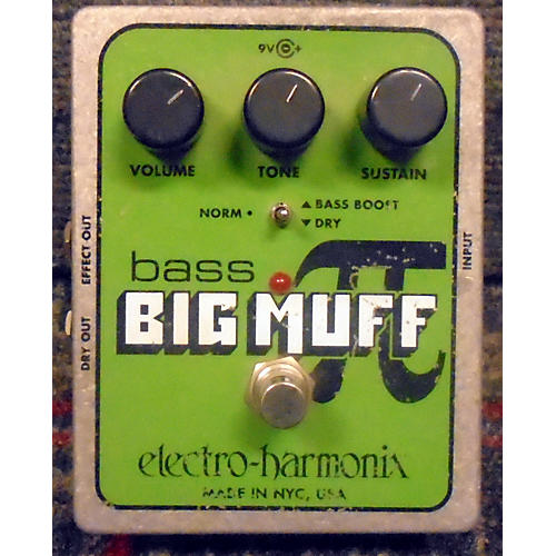 Electro-Harmonix Big Muff P Bass Distortion Bass Effect Pedal-thumbnail