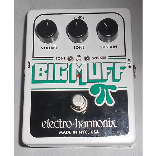Electro-Harmonix Big Muff Tone Wicker Distortion Alpine White Effect Pedal Alpine White