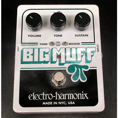Electro-Harmonix Big Muff Tone Wicker Distortion Effect Pedal