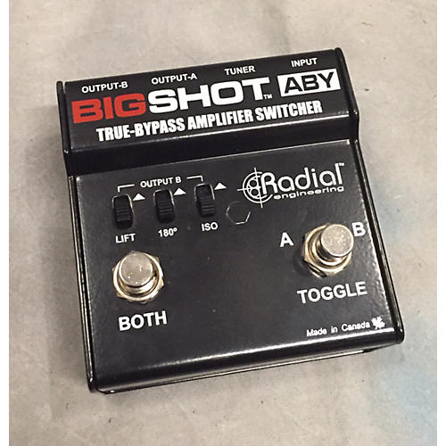 In Store Used Big Shot ABY Footswitch-thumbnail