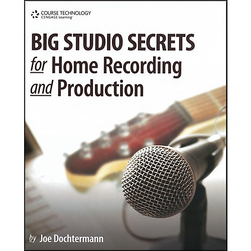 Course Technology PTR Big Studio Secrets for Home Recording and Production Book & CD-ROM-thumbnail