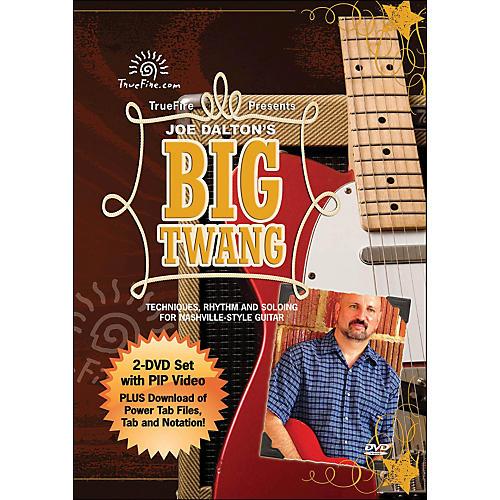 Hal Leonard Big Twang - Instructional Guitar 2-DVD Pack Featuring Joe Dalton-thumbnail
