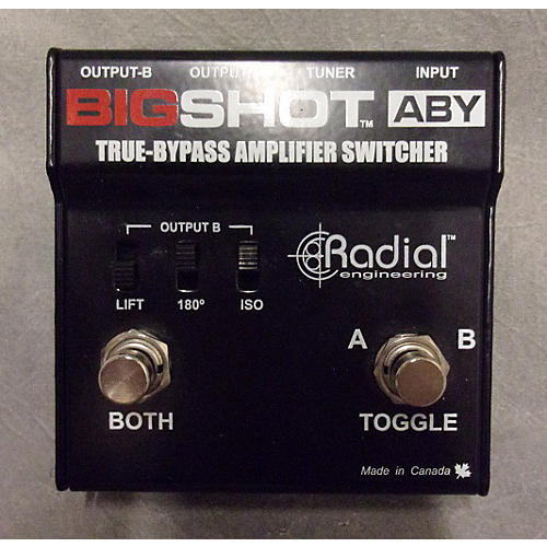 Radial Engineering Bigshot ABY Pedal-thumbnail