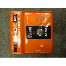 Radial Engineering Bigshot PB1 Power Booster Effect Pedal