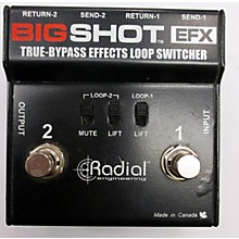 Radial Engineering Bigshot True Bypass FX Loop Switcher Pedal