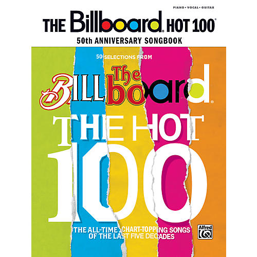 Alfred Billboard Magazine Hot 100 50th Anniversary Songbook PVC-thumbnail