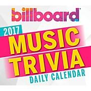 Hal Leonard Billboard Music Trivia 2017 Daily Boxed Calendar
