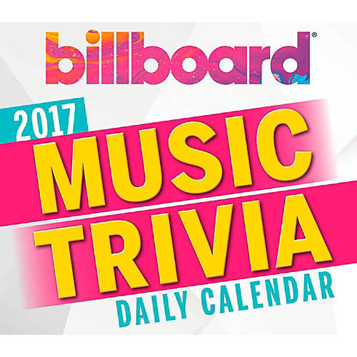 Hal Leonard Billboard Music Trivia 2017 Daily Boxed Calendar-thumbnail