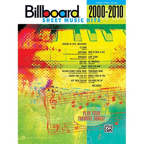 Alfred Billboard Sheet Music Hits 20002010 PVC-thumbnail