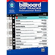 Alfred Billboard Top Tracks Instrumental Solos - Tenor Sax Book & CD Play-Along