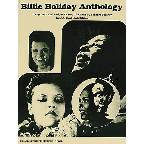 Creative Concepts Billie Holiday Anthology (Songbook)-thumbnail